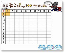 百ます計算特集 幼児と小学生 ... : 100マス計算 掛け算 : すべての講義